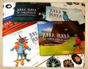 Jukka Hukka kirjoja