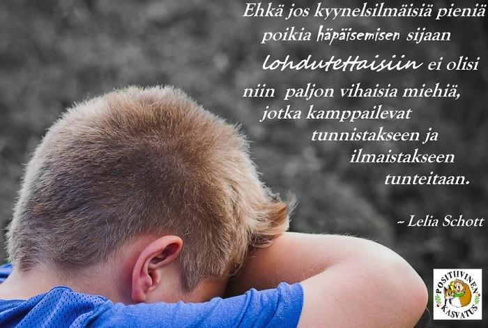 Itkevä poika