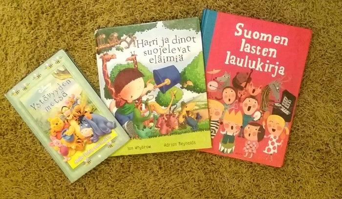 Kolme kirjaa sinnikkyydestä