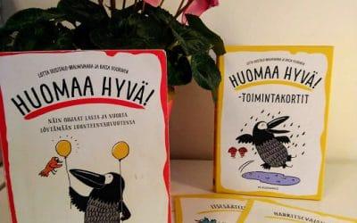 Lotta Uusitalo-malmivaara ja Kaisa Vuorinen: Huomaa hyvä! – kirja ja toimintakortit