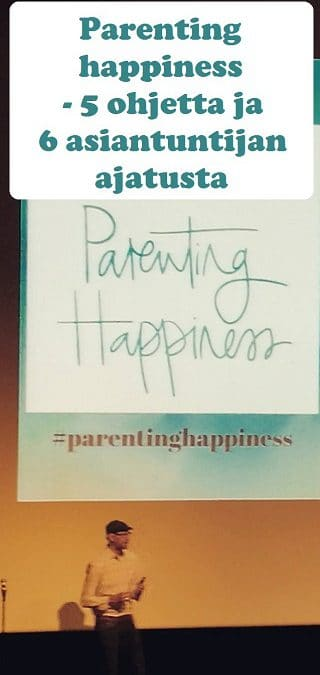 Parenting happiness seminaarikuva