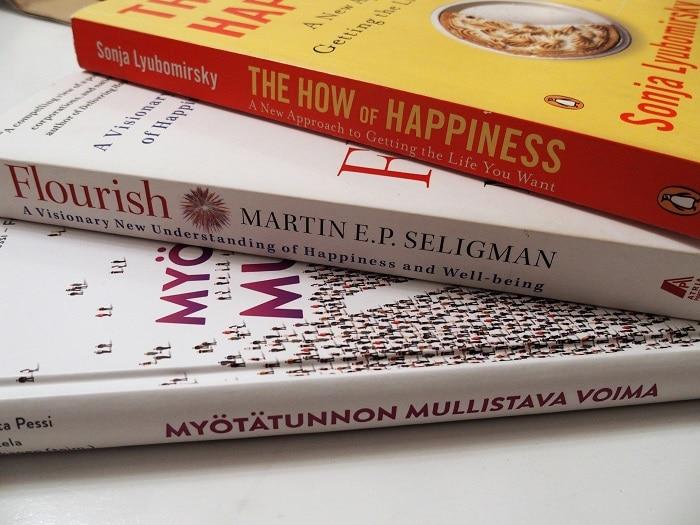Positiivisen psykologian kirjallisuutta