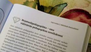 Eliisa Leskisenoja positiivinen pedagogiikka varhaiskasvatuksessa nojatuolipedagogiikka