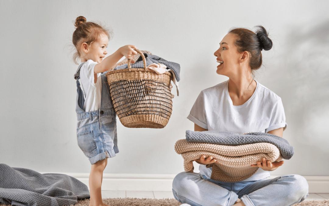 Ilolla ja yhdessä – koko perheen kotityöt